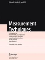 Measurement Techniques 3/2015