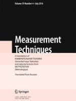 Measurement Techniques 4/2016