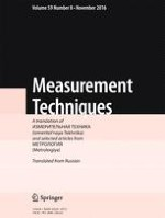 Measurement Techniques 8/2016