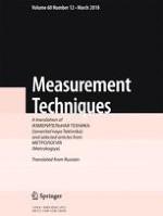 Measurement Techniques 12/2018