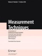 Measurement Techniques 7/2018
