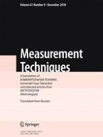 Measurement Techniques 9/2018