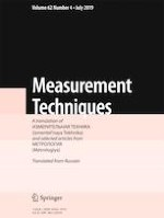 Measurement Techniques 4/2019