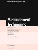 Measurement Techniques 6/2019