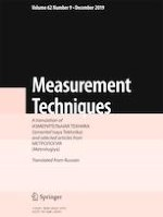 Measurement Techniques 9/2019