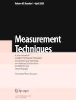 Measurement Techniques 1/2020