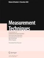 Measurement Techniques 8/2020