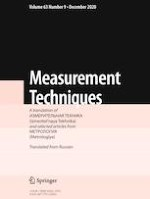 Measurement Techniques 9/2020