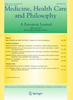 Medicine, Health Care and Philosophy 4/2010