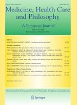 Medicine, Health Care and Philosophy 2/2012