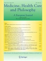 Medicine, Health Care and Philosophy 3/2013
