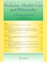Medicine, Health Care and Philosophy 4/2019