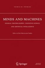 Minds and Machines 4/2018