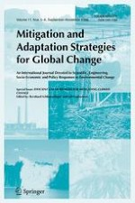 Mitigation and Adaptation Strategies for Global Change 5-6/2006