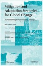 Mitigation and Adaptation Strategies for Global Change 5/2007