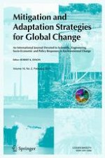 Mitigation and Adaptation Strategies for Global Change 2/2011
