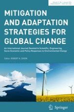 Mitigation and Adaptation Strategies for Global Change 1/2016