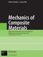 Mechanics of Composite Materials 1/2006