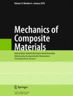 Mechanics of Composite Materials 6/2018