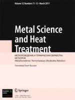 Metal Science and Heat Treatment 11-12/2011