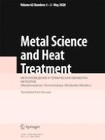 Metal Science and Heat Treatment 1-2/2020