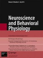 Neuroscience and Behavioral Physiology 9/2005