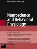Neuroscience and Behavioral Physiology 9/2010