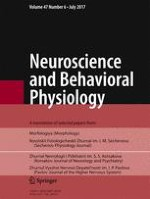 Neuroscience and Behavioral Physiology 6/2017