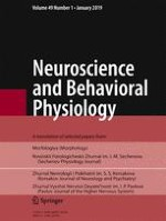 Neuroscience and Behavioral Physiology 1/2019