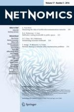 NETNOMICS: Economic Research and Electronic Networking 3/2016