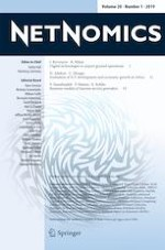 NETNOMICS: Economic Research and Electronic Networking 1/2019