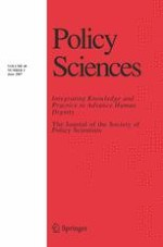 Policy Sciences 2/2007