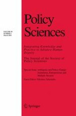 Policy Sciences 1/2016