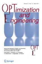Optimization and Engineering 1-2/2011