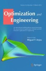 Optimization and Engineering 1/2015