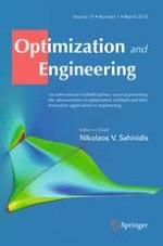 Optimization and Engineering 1/2005