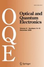 Optical and Quantum Electronics 14-15/2009
