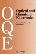 Optical and Quantum Electronics 8/2013