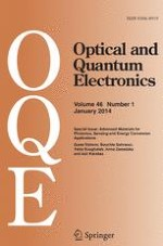 Optical and Quantum Electronics 1/2014