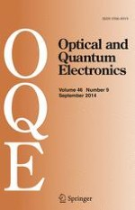 Optical and Quantum Electronics 9/2014