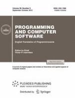 Programming and Computer Software 5/2012