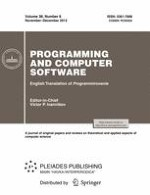 Programming and Computer Software 6/2012
