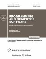 Programming and Computer Software 5/2014