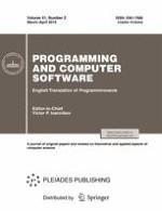 Programming and Computer Software 2/2015