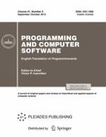 Programming and Computer Software 5/2015