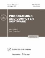 Programming and Computer Software 4/2016