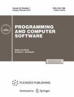 Programming and Computer Software 1/2017