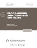 Programming and Computer Software 4/2018