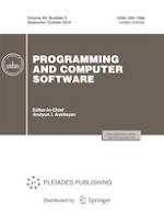 Programming and Computer Software 5/2018
