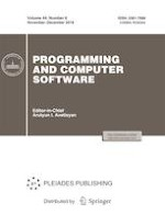 Programming and Computer Software 6/2018